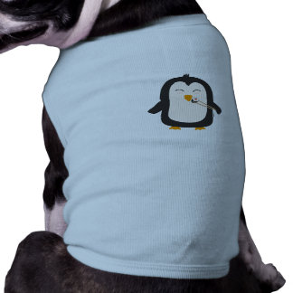 Penguin with sushi tee