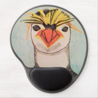 Penguin Wrist Support Mouse Pad