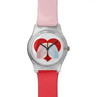 penguin wristwatch