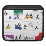 Penguin Zodiac Ipad Case Sleeve For iPads