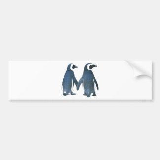 Penguine Bumper Sticker