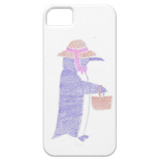 Penguing With a Basket iPhone SE/5/5s Case