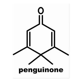 Penguinone Postcard
