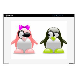 "penguins-157418.png 15"" laptop decal"