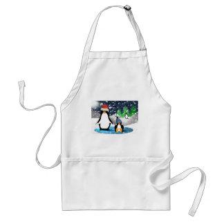 Penguins Adult Apron
