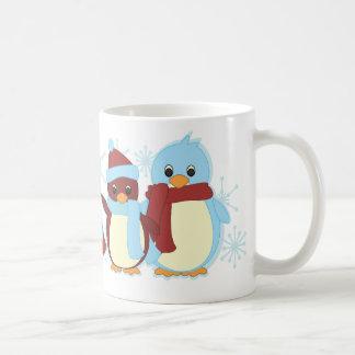 Penguins all around coffee mug