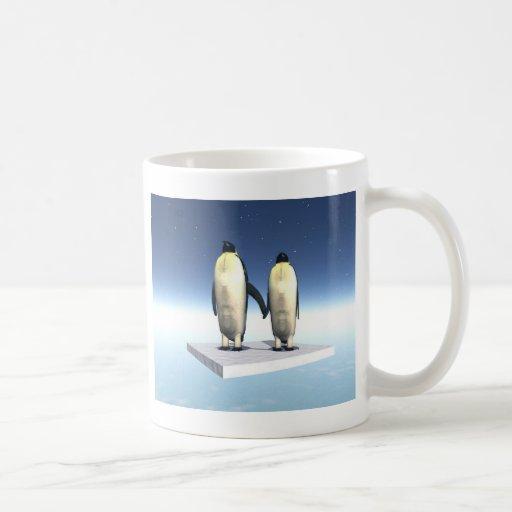 penguins amoureux coffee mugs