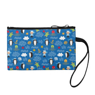 Penguins and Sailors Coin Wallet