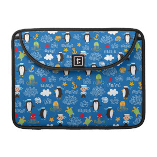 Penguins and Sailors Sleeves For MacBook Pro