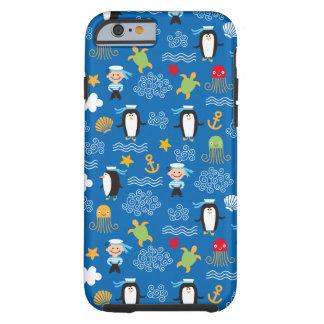 Penguins and Sailors Tough iPhone 6 Case