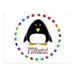 Penguins are Funtastic Post Cards