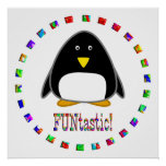 Penguins are Funtastic Posters