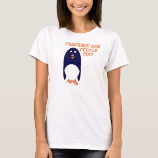 Penguins are people too Tee