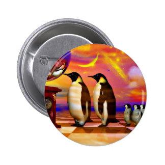 Penguins Pinback Buttons