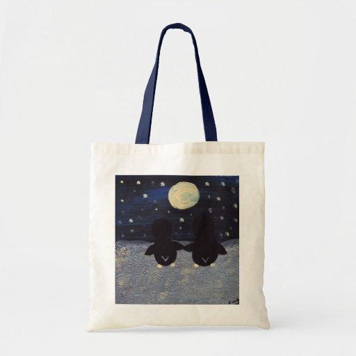 Penguins By Moonlight Bag