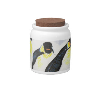 Penguins Candy Dishes