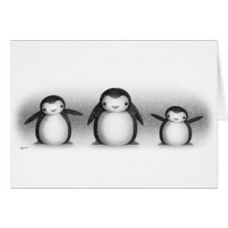"""""""Penguins"""" Card"""