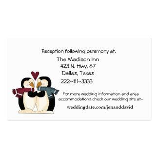 Penguins Couple enclosure cards