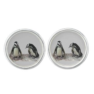 Penguins Cuff Links