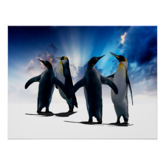 Penguins dance poster