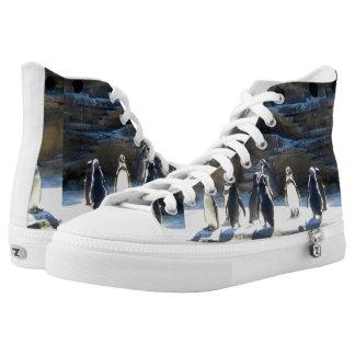 Penguins Designed Hightop Shoe
