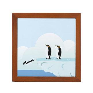 Penguins Desk Organizers
