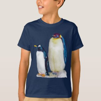 Penguins Drawing T-Shirt