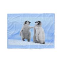 Penguins Fleece Blanket
