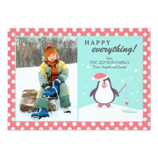 Penguin's Holiday Photo Card