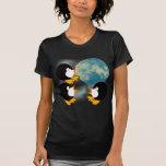 Penguins Howling at the Moon Tshirt
