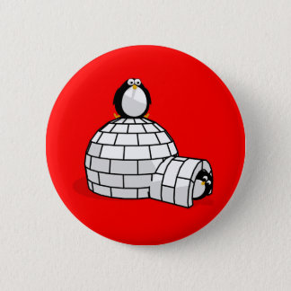 Penguins & Igloo Button