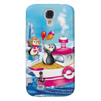penguins in Antarctica Samsung S4 Case