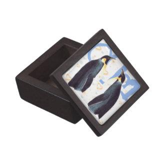Penguins In Love Premium Gift Box
