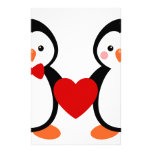Penguins in Love Stationery