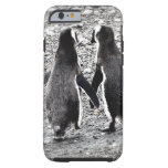 Penguins in Love Tough iPhone 6 Case
