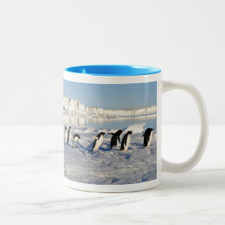 Penguins in the Snow Mug