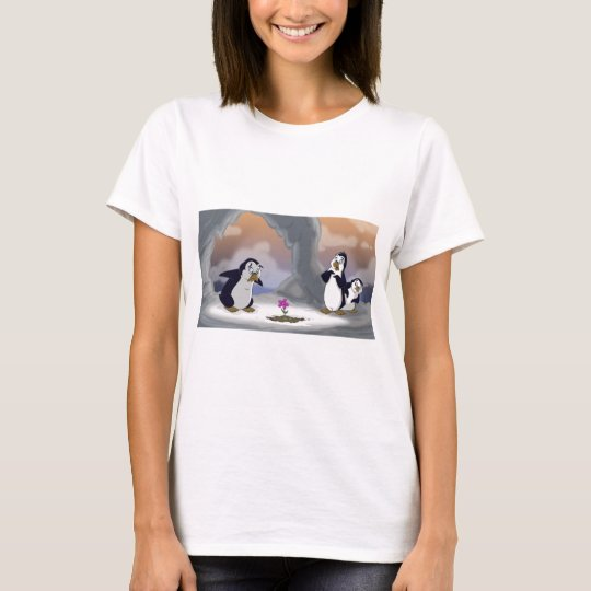 Penguins in the Spring T-Shirt