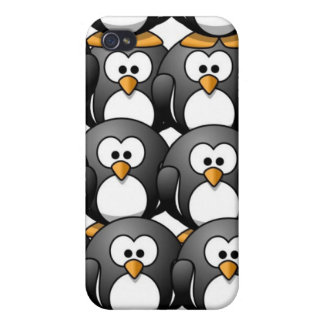 penguins iPhone 4 cover