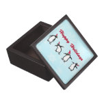 Penguins Jewlery Box Premium Jewelry Boxes