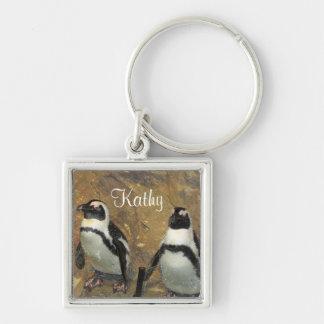 Penguins Keychain