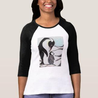 Penguins Ladies Raglan Shirt