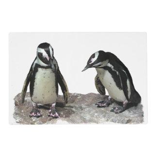 Penguins Laminated Placemat