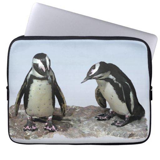 Penguins Laptop Computer Sleeves