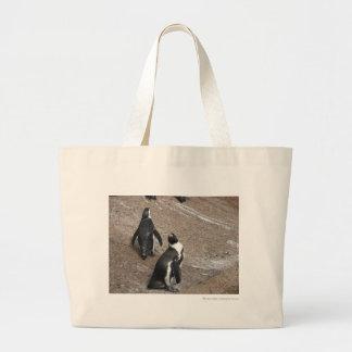 Penguins Large Tote Bag