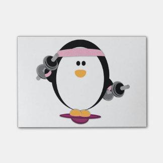 Penguins Lift Post-Its Post-it Notes
