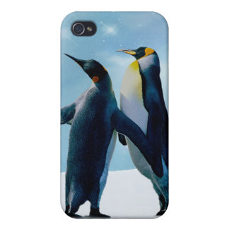 Penguins Live and let live iPhone 4/4S Case