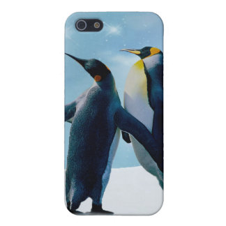 Penguins Live and let live iPhone SE/5/5s Cover