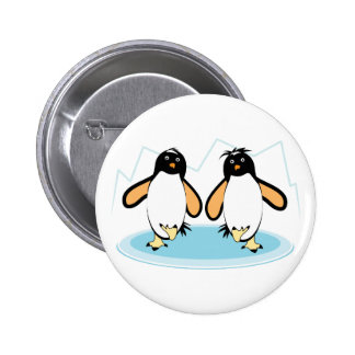 Penguins On Ice Pin
