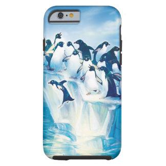 Penguins on Iceberg Tough iPhone 6 Case