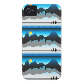 Penguins On The Move iPhone 4 Case-Mate Case